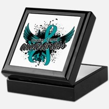 Ovarian Cancer Awareness 16 Keepsake Box