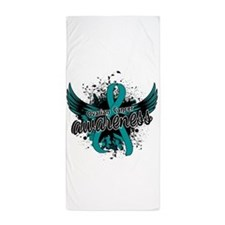 Ovarian Cancer Awareness 16 Beach Towel