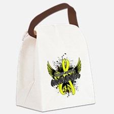 Osteosarcoma Awareness 16 Canvas Lunch Bag