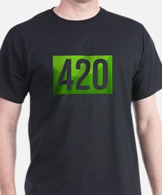 420 On Top of People T-Shirt