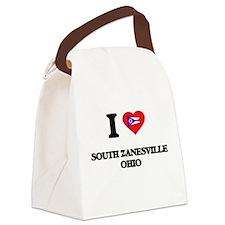 I love South Zanesville Ohio Canvas Lunch Bag
