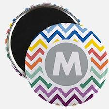 Monogram Chevron Magnets