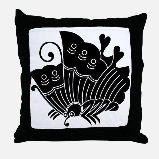 Ageha Butterfly Throw Pillow