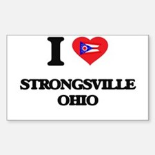 I love Strongsville Ohio Decal