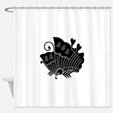 Ageha Butterfly Shower Curtain