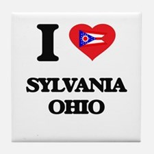 I love Sylvania Ohio Tile Coaster