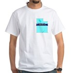 True Blue Utah Liberal - - White T-Shirt