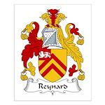 Reynard Family Crest Small Poster
