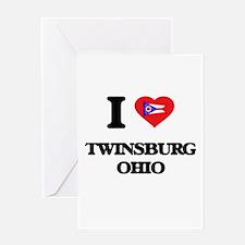 I love Twinsburg Ohio Greeting Cards