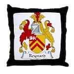 Reynard Family Crest Throw Pillow