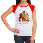 Reynard Family Crest Women's Cap Sleeve T-Shirt