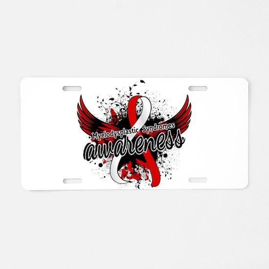 MDS Awareness 16 Aluminum License Plate