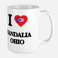I love Vandalia Ohio Mugs