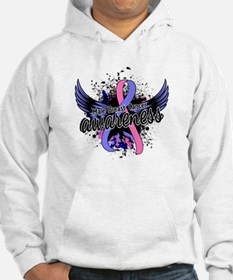 Male Breast Cancer Awareness 16 Hoodie