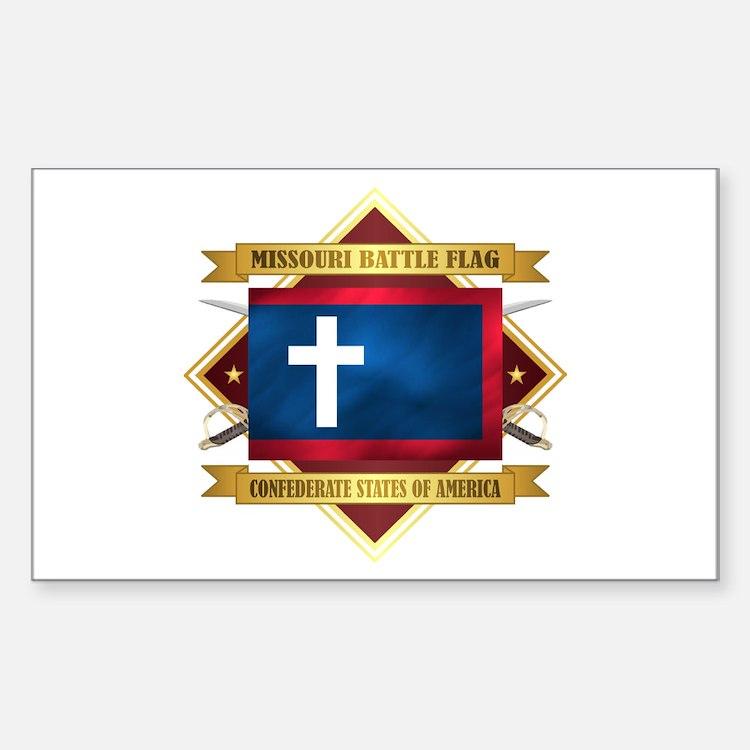 Missouri Battle Flag Decal