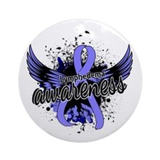 Lymphedema Awareness 16 Ornament (Round)