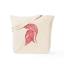 Spartan Helmet Sketch Tote Bag