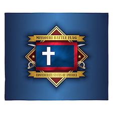 Missouri Battle Flag King Duvet