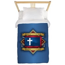 Missouri Battle Flag Twin Duvet