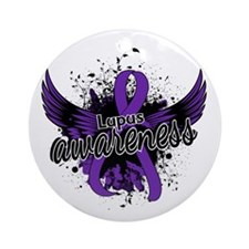 Lupus Awareness 16 Ornament (Round)