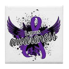 Lupus Awareness 16 Tile Coaster