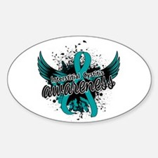 Interstitial Cystitis Awareness 16 Decal