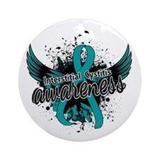 Interstitial Cystitis Awareness 1 Ornament (Round)