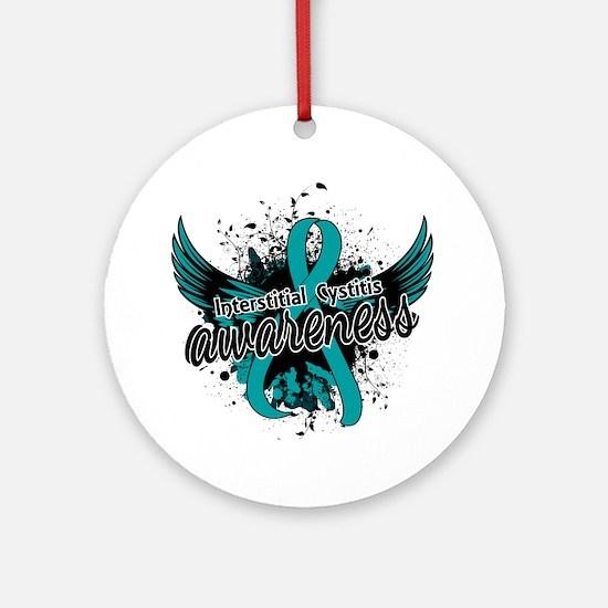 Interstitial Cystitis Awareness 1 Ornament (Round)