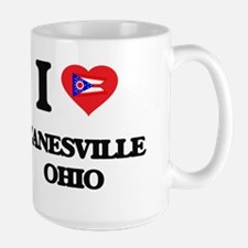 I love Zanesville Ohio Mugs