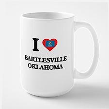 I love Bartlesville Oklahoma Mugs