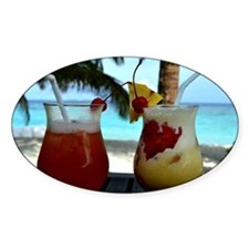 Beachy Cocktails Decal