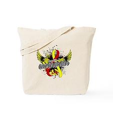 Hepatitis C Awareness 16 Tote Bag