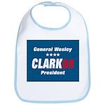 WESLEY CLARK PRESIDENT 08 Bib