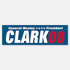 WESLEY CLARK PRESIDENT 08 Bumper Bumper Bumper Sticker