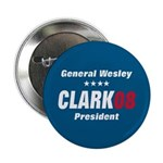 WESLEY CLARK PRESIDENT 08 Button