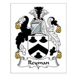 Reyman Family Crest Small Poster