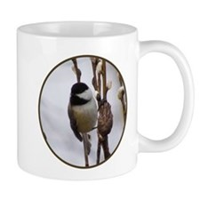 Black Capped Chickadee Mugs