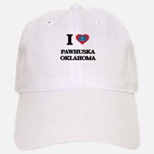 I love Pawhuska Oklahoma Baseball Baseball Cap