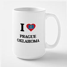 I love Prague Oklahoma Mugs