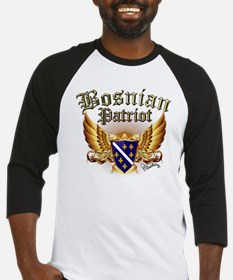 Bosnian Patriot Baseball Jersey