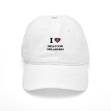 I love Skiatook Oklahoma Baseball Cap