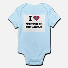 I love Westville Oklahoma Body Suit