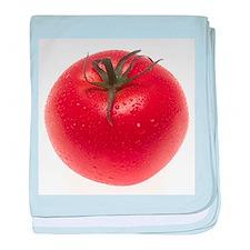 Fresh Tomato baby blanket