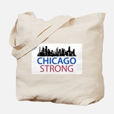 Cute Chicago downtown Tote Bag