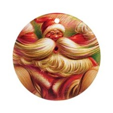Cool Large christmas Ornament (Round)