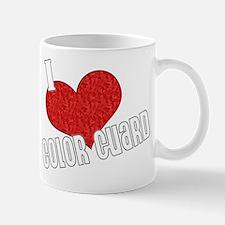 I Love Color Guard Mug