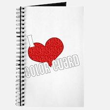 I Love Color Guard Journal