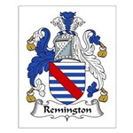 Remington Family Crest Small Poster