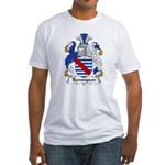 Remington Family Crest  Fitted T-Shirt