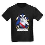 Remington Family Crest Kids Dark T-Shirt
